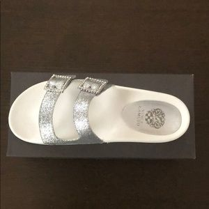 Vince Camuto Silver Sandals